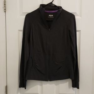 Kenneth Cole Grey Full Zip Top